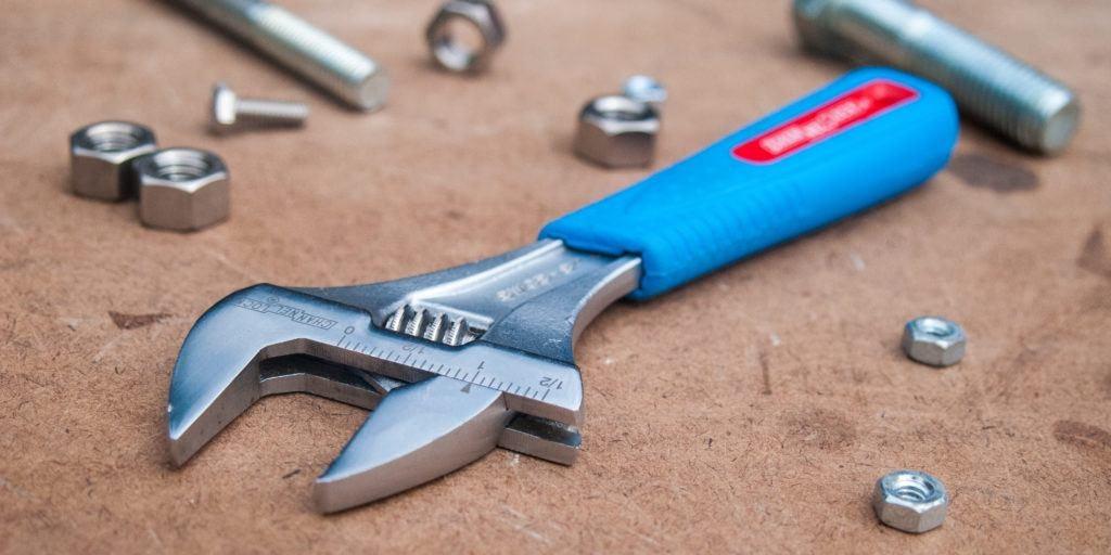 Channellock plumbers adjustable spanner